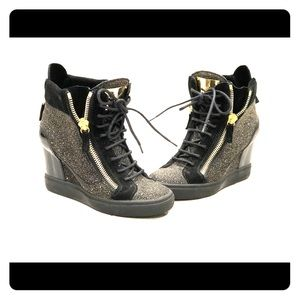 Giuseppe Zannoti Wedge Sneakers